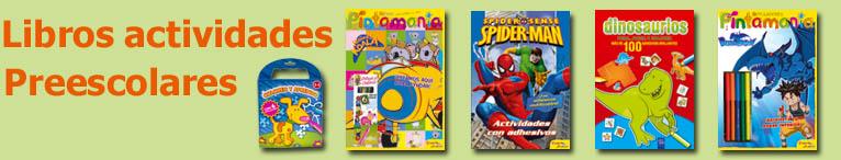 <div>Libros de actividades preescolar</div>